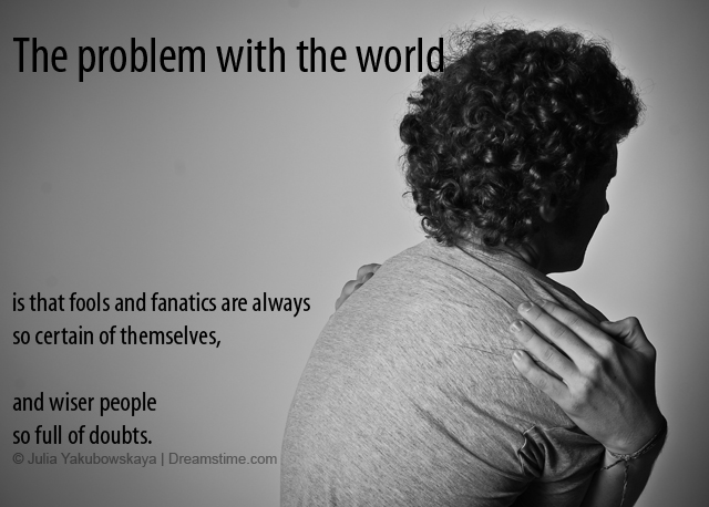 problem with the world quote